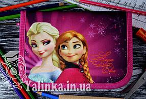 Пенал школьный  с наполнением  Anna and Elsa 930444