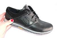 Мужские кожаные туфли, DS03, цвет черный
