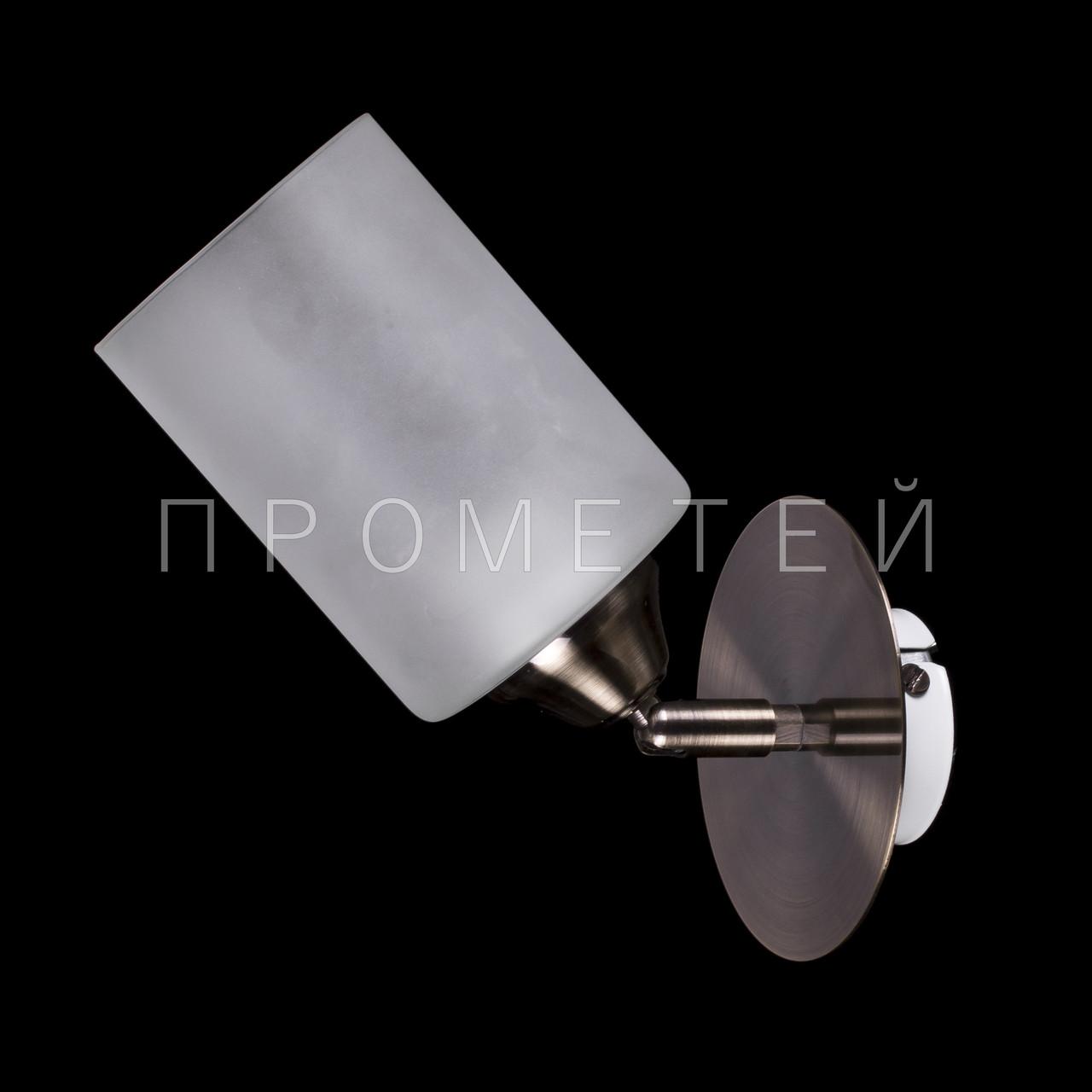 Бра спот на 1 лампочку. P3-1162/1C/AB+WT