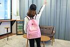 Рюкзак городской ХХХ Розовый, фото 3