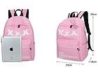 Рюкзак городской ХХХ Розовый, фото 5