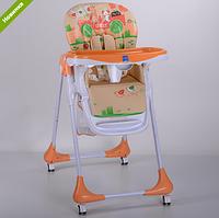 Детский стульчик для кормления BAMBI M 3234-5 оранжевый ***