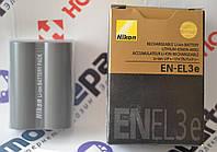 Оригинальный Аккумулятор Nikon EN-EL3e для D50 | D100 | D200 | D700 | D70 | D80 | D300 | D70s | D90 | D300s