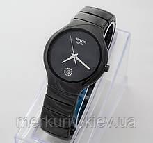Стильные керамические часы Rado Jubile Black Радо ЭЛИТ унисекс