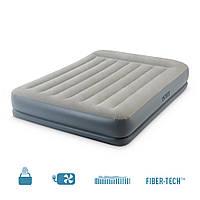 64118 INTEX надувная кровать Queen 152х203х30см.