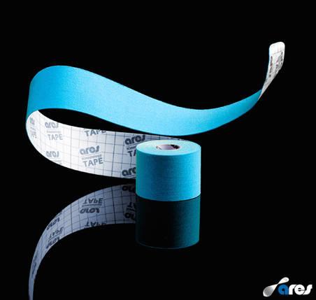 Кинезио тейп Ares Uncut 5 cm X 5 m (blue), фото 2