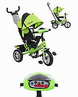 Детский Трехколесный Велосипед Turbo Trike С Интерактивной Панелью Ps
