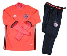 Костюм тренировочный Бавария оранжевый
