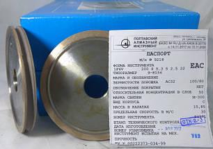 Алмазный круг (1F6V) для обработки кромки стекла