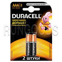 "Щелочная батарейка ""DURACELL"" Basic ААА 1шт."