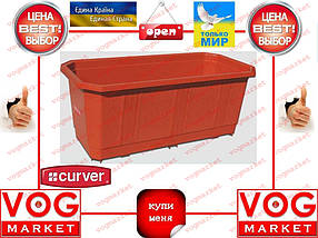 Curver Балконный ящик для цветов 40 см терракот