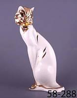 Статуэтка Дикий кот 35 см фарфор 58-288