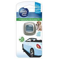 Автомобильный освежитель воздуха AmbiPur elimina los olores de mascotas