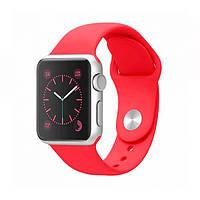 Ремень для Apple Watch Sport Band 38mm Silicone Watch Red (AWA011)