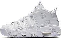 Женские кроссовки Nike Air More Uptempo Triple White