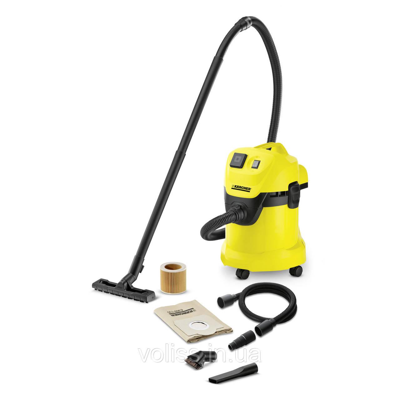 Пылесос для сухой уборки KARCHER WD 3P WORKSHOP