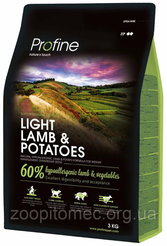 Profine (Профайн) Light Lamb Корм для собак с лишним весом с ягненком