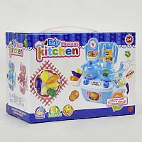 Детская игровая кухня 777-1, с посудой, в коробке