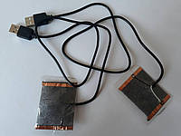 USB нагревательные элементы для носков, перчаток с подогревом (8,5 см * 6,5 см.)