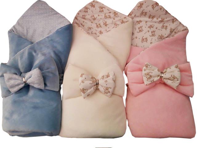 Конверты, одеяла, пледы на выписку.