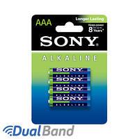 Батарейки Sony LR03 (AAA) Alkiline 4 шт.