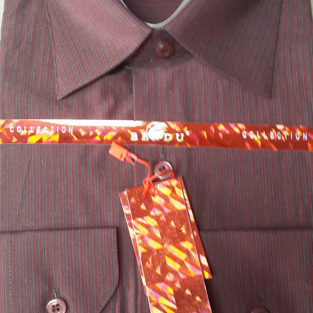 Классическая мужская рубашка BENDU (размеры 38.39.40.41.44.45.46)