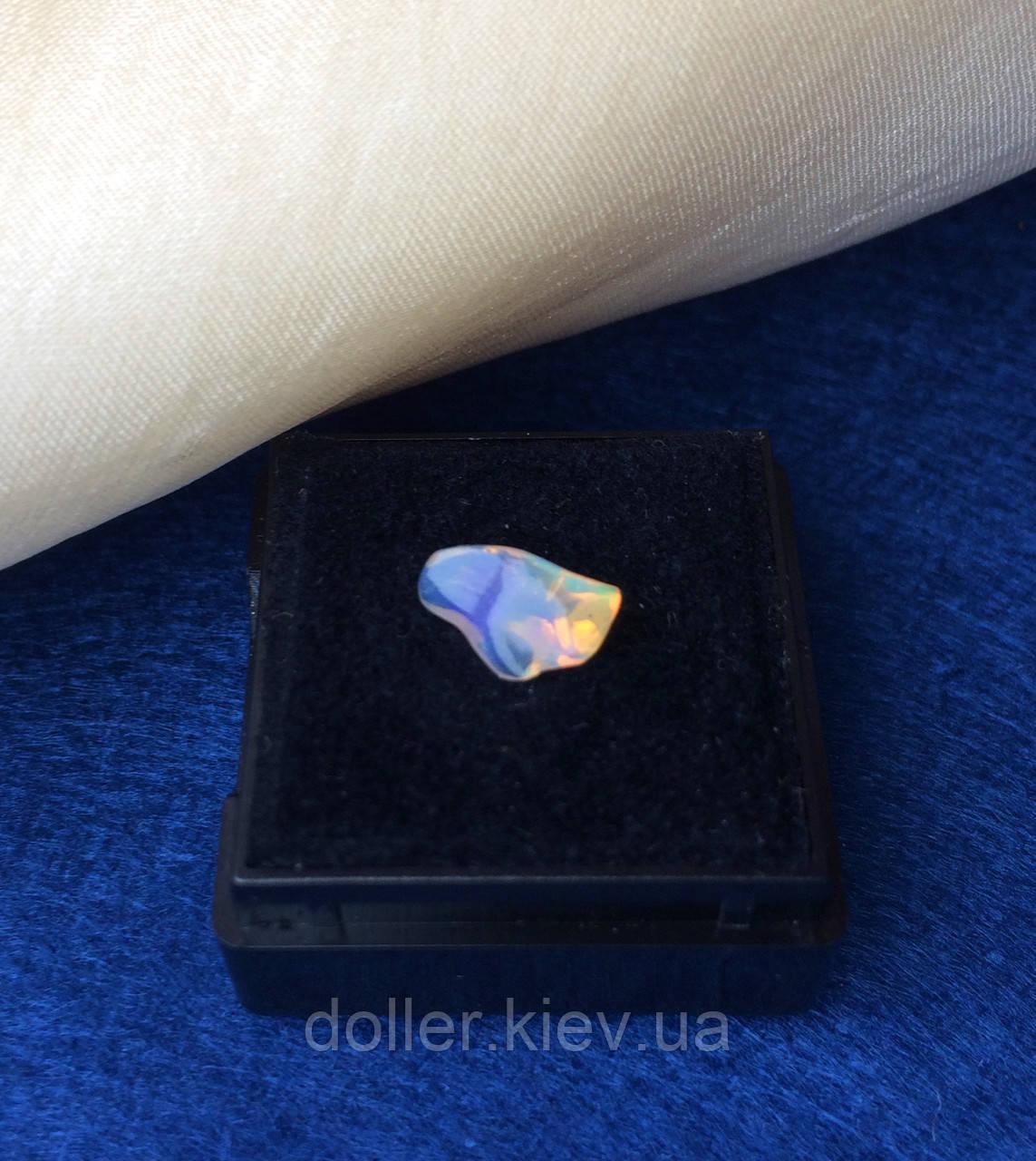 Благородный опал эфиопский, галтовка, натуральный поделочный камень