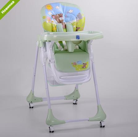 Детский стульчик для кормления BAMBI M 3234-4 салатовый ***