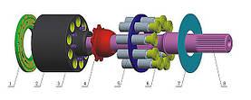 Гидромотор danfoss SPV6 119