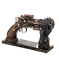 Статуэтка на подставке Veronese Пистолет 18 см 76919