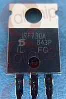 Транзистор полевой N-канал IRF730A Vishay TO220