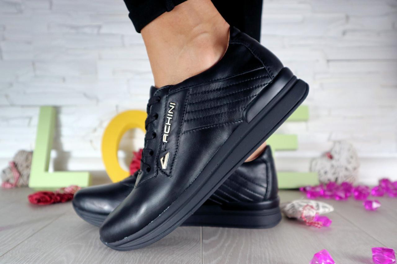 Женские повседневные кроссовки (черные), ТОП-реплика