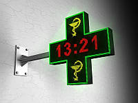 LED Крест многоцветный 960х960 мм (Вид: Двухсторонний;  Датчик температуры: Без датчика;)