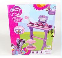 Детский синтезатор со стульчиком 901-613***