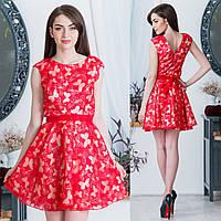 5e5f47bb055 Скидки на Коктейльное красное платье в Украине. Сравнить цены ...