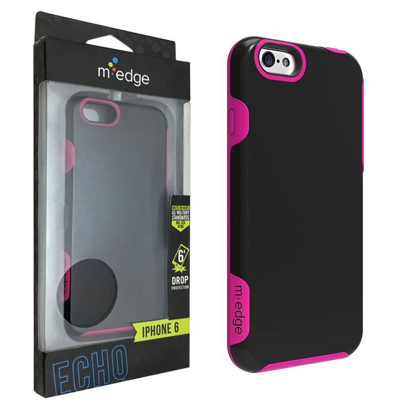 Чехол для iPhone 6/6s M-Edge (IP6-EC-P-BPK)