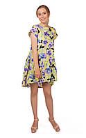 Летнее женское платье SO-13213-YLW ТМ Alpama 42-46 размеры