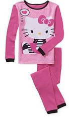 Пижама Hello Kitty (Размер 6 лет)  (США) Можно использовать как термобелье.