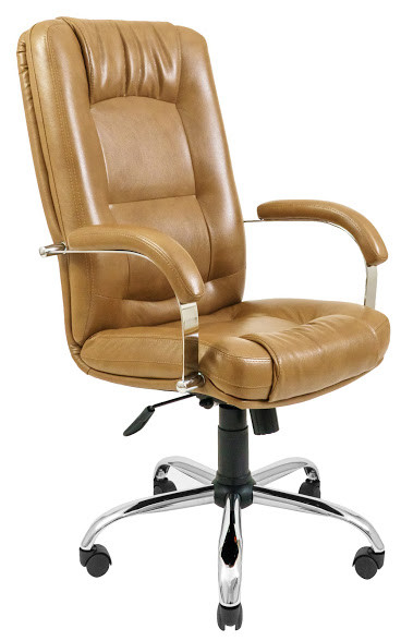 Кресло Альберто Хром Титан крем (Richman ТМ)