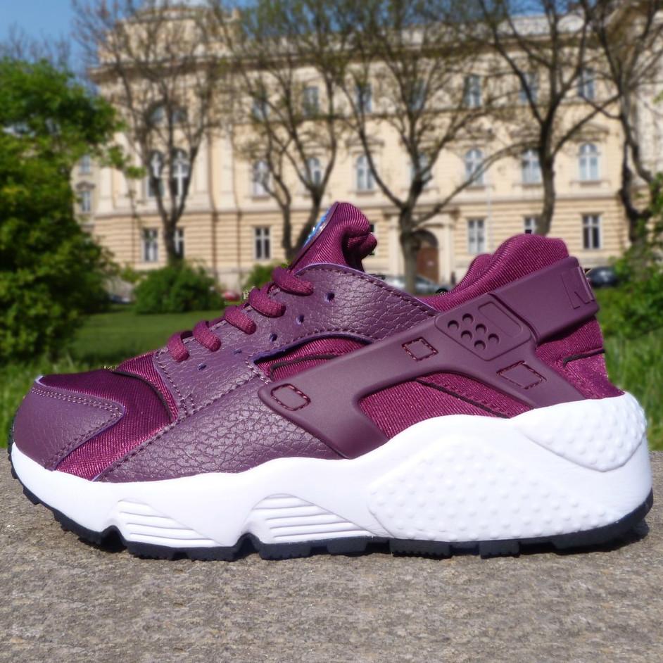 55d255d4 Кроссовки женские Nike Air Huarache (фиолетовые-белые) Top replic ...
