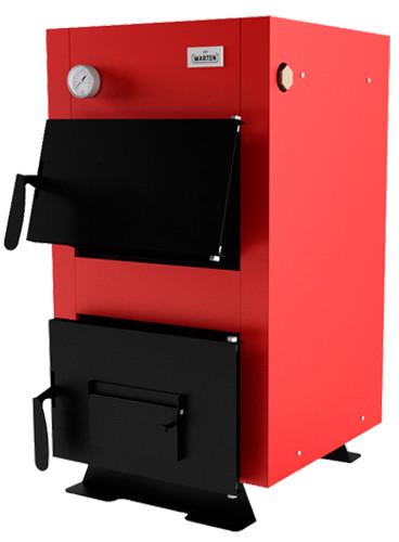 Котел твердопаливний MARTEN BASE MB-12 кВт без плити, водоохолоджувані колосники