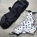 Купальник черно-белый с сердечками, фото 2