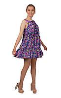 Короткое летнее лиловое платье SO-13212-LIL ТМ Alpama 42-46 размеры