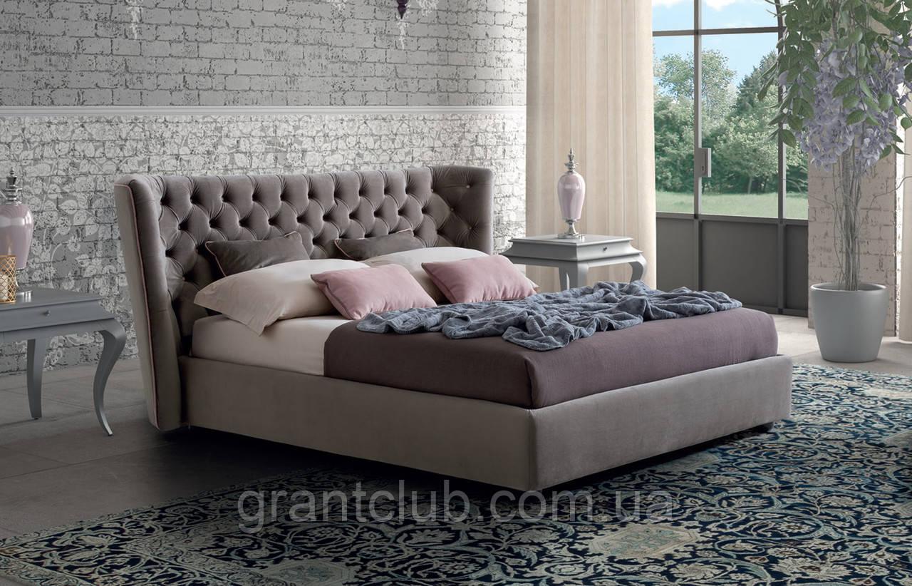 Итальянская мягкая кровать CARAVAGGIO фабрика LeComfort