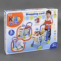"""Игровой набор 008-902 А """"Супермаркет"""", тележка с продуктами, играет мелодия, светится, в коробке"""
