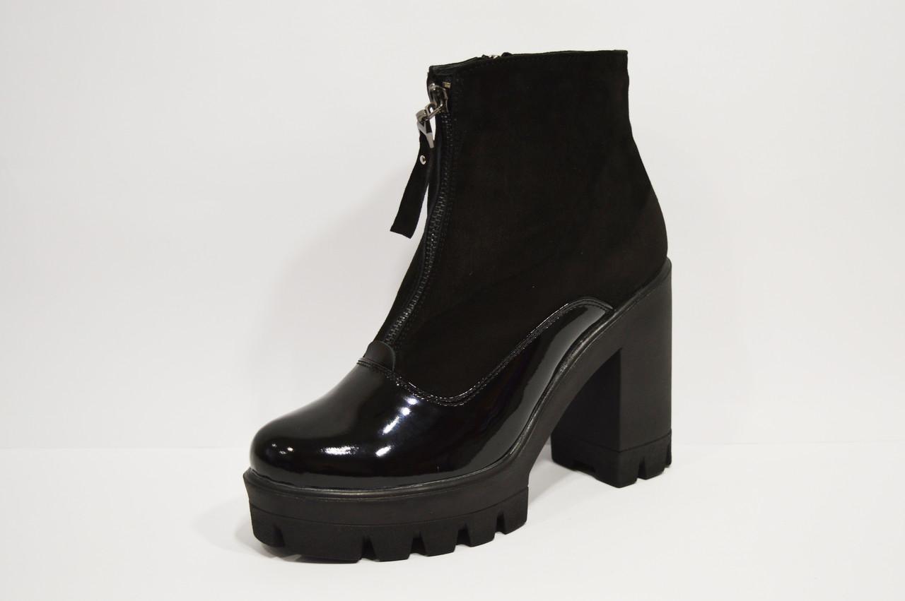 Ботинки женские черные Selesta