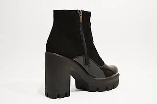 Ботинки женские черные Selesta, фото 3