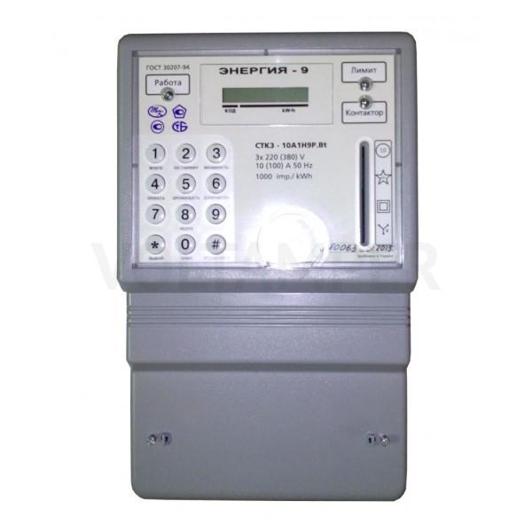 Счетчик электроэнергии СТК3-10А1Н4P.ВUt 3х220/380В 5(7.5)А трехфазный многотарифный