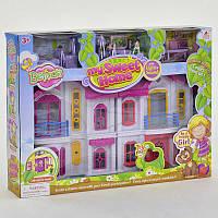 Игрушка домик 16660, складной, Игровой набор мебели, жители, звук, свет,на бат-ке,в кор-ке,50-37-9см