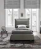 Итальянская мягкая современная кровать CATLIN фабрика LeComfort, фото 5